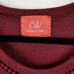 Chelsea & Violet Sweaters - Chealsea & Violet Cozy Pullover Sweater Top Small